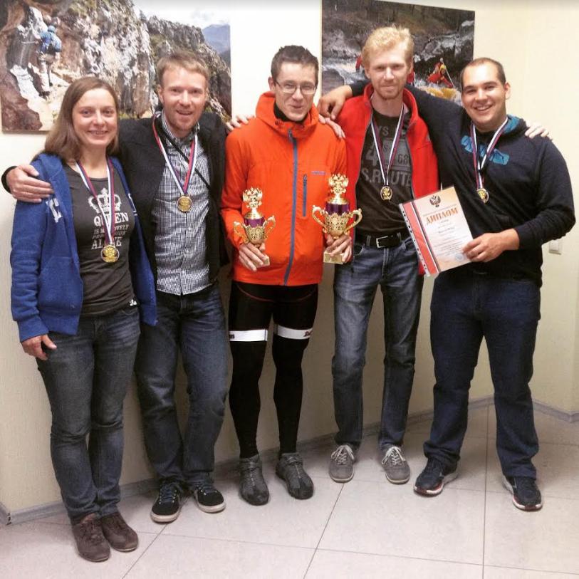 Победители ЧР по спортивному туризму